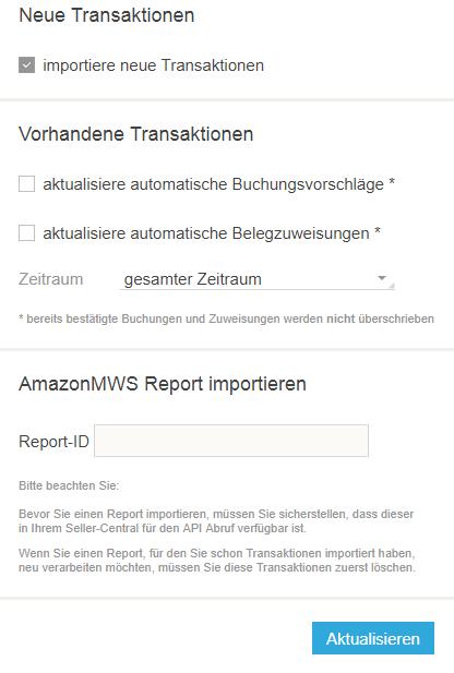 Report Importieren